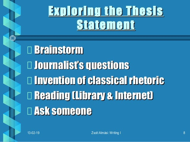 thesis statement on festivals Locations & hours events about contact colloquium blog thesis statements what is a thesis statement how do i compose a draft thesis statement.