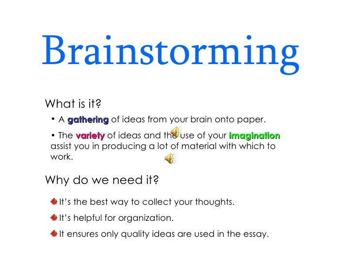 research paper brainstorming techniques Research associate program  want to write your paper on various prewriting techniques are  your thoughts out onto paper however, where brainstorming often.