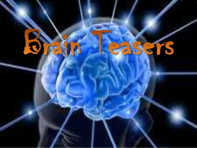 •Brain teasers are recreational games designed to stimulate thebrain activity.•Examples of these are anagrams, acrostics a...