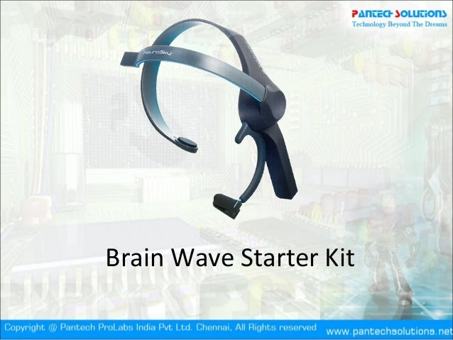 Brainwave starter Kit- Brain computer interface