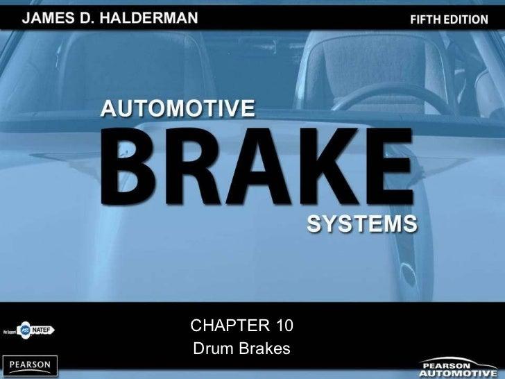 CHAPTER 10 Drum Brakes