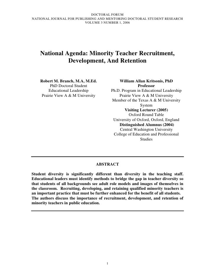 Branch  robert_m___national_agenda_minority_teacher_recruitment