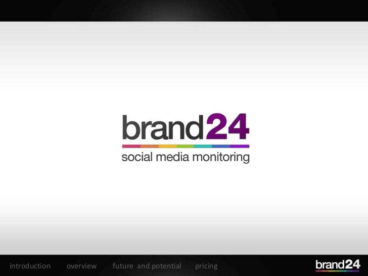 Brand24 - social media monitoring platform