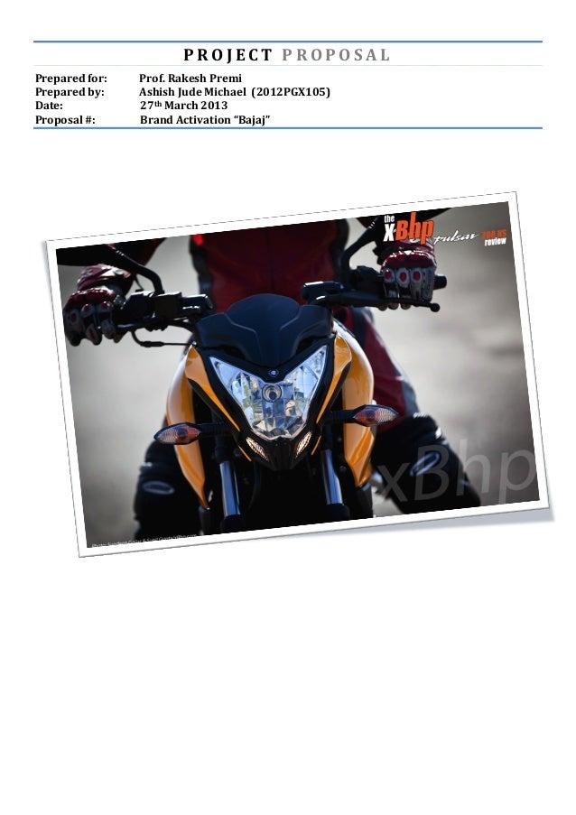 Brand activation: Bajaj Auto