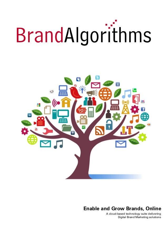 Brand Algorithms Digital Brand Marketing Solutions