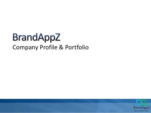 Company Profile & Portfolio