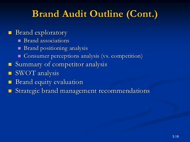brand audit secondary research report Audit is about quality and research is about knowledge audit often generates research questions and research can be complemented by audit not only generalisable, important, and applicable results but also statistically significant statistical analysis is a must this does not have to be too sophisticated but needs to show statistically significant.