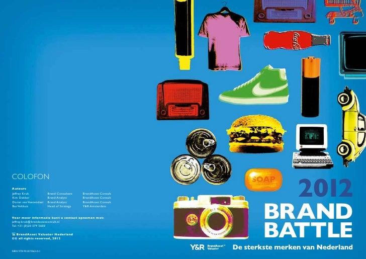 Brand Battle 2012 - De sterkste merken van Nederland