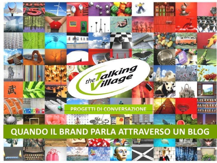 Brand blog