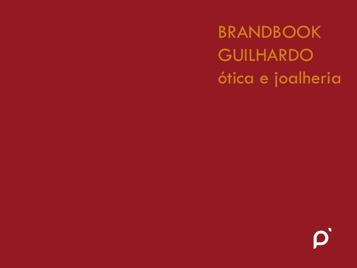 Brandbook guilhardo