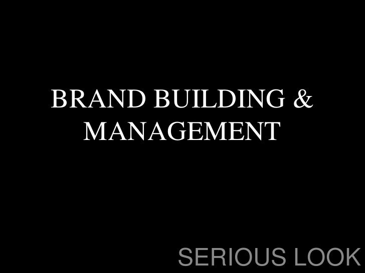 Brand building lessons