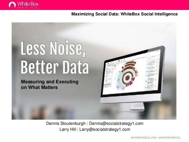 Maximizing Restaurant Customer Experience with Social Media Data