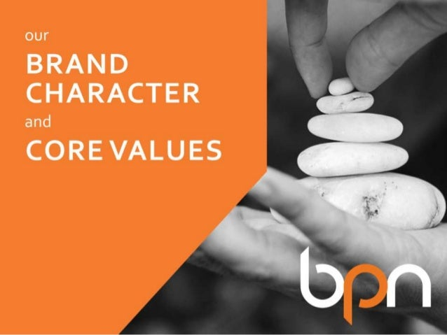 Brand Character and Core Values