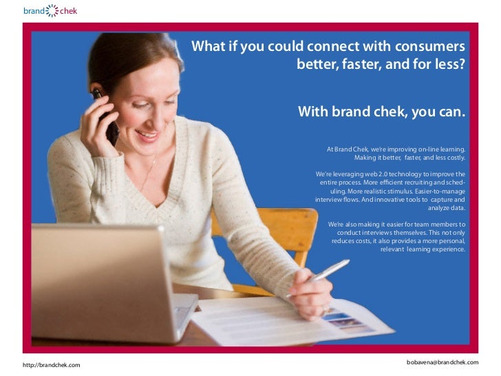 brand       chek                       What if you could connect with consumers                                       bett...