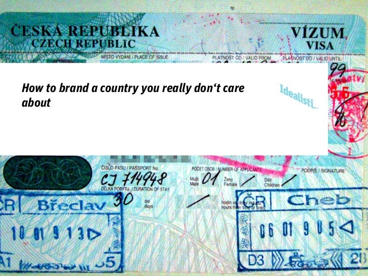 How to brand a country you really don't careabout