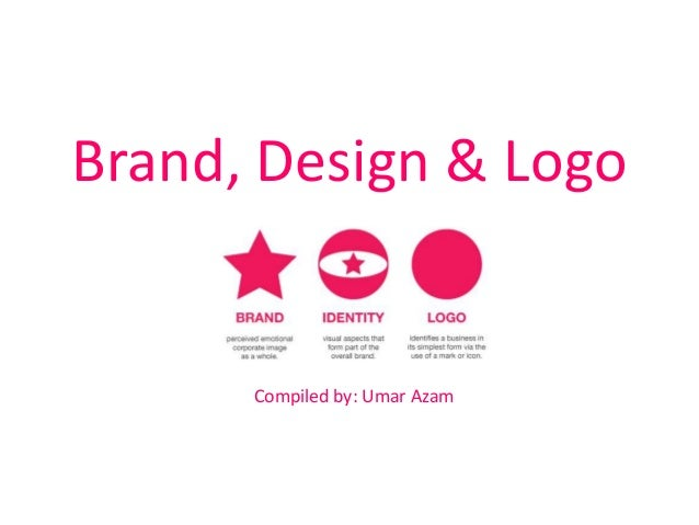 Brand, design u0026 logo - are not the same!