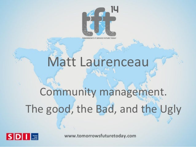 #TFT14 Matt Laurenceau: Community Management