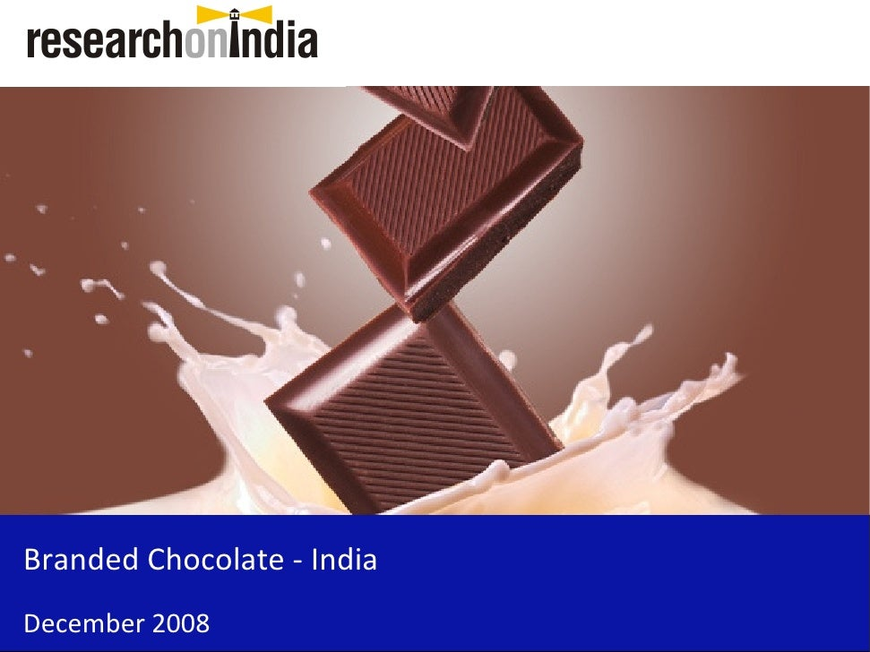 Branded Chocolate - India December 2008
