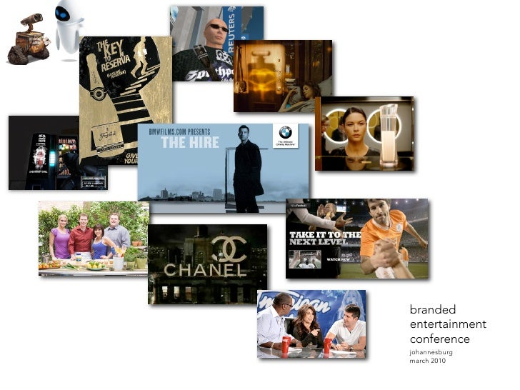 Branded Entertainment | Patrick Collings 2010
