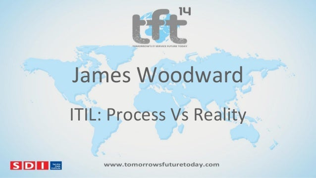 James Woodward ITIL: Process Vs Reality