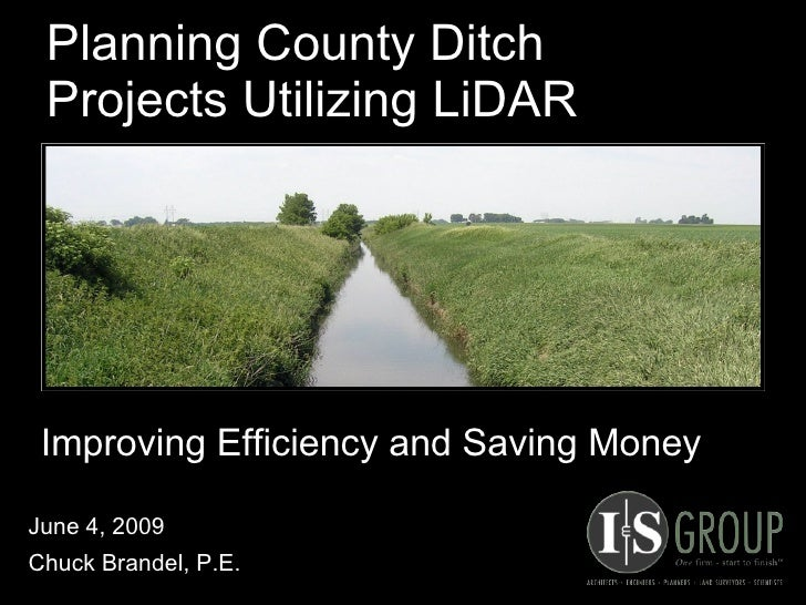 Brandel - Planning County Ditch Projects