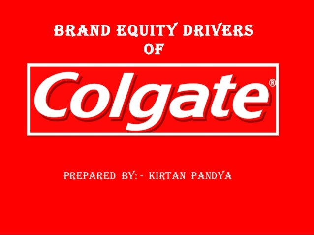 brand and i colgate After the explosion of e-commerce, the biggest story in american retail today is  the collapse of traditional consumer brands a case in point is.