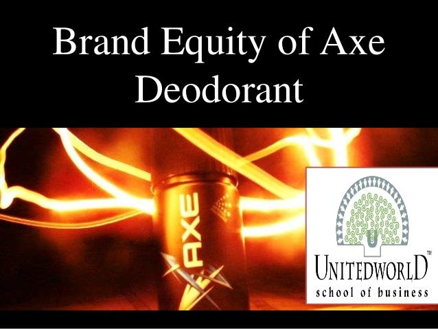 Brand Equity of Axe Deodorant