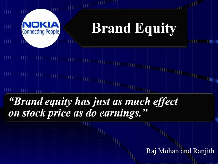Brand Equity Ppt