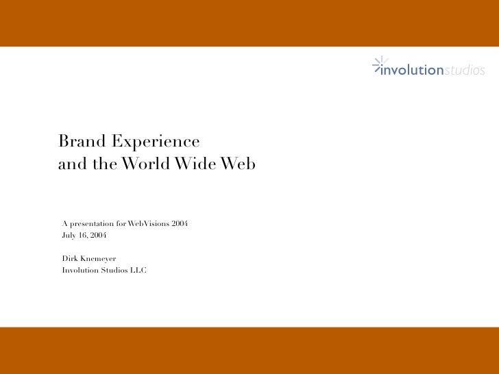 Brandexperience