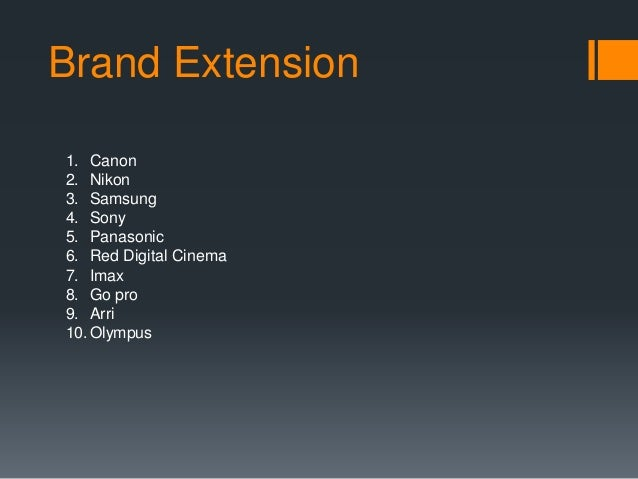 product line extension in sony Best answer: product line extension: when a company introduces additional items in the same product category under the same brand name such as.