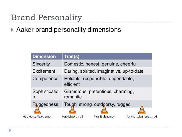 brand personality framework essay Aaker's brand personality framework: brand personality in different cultures such as dimensions of brand personality framework is generalizable over.