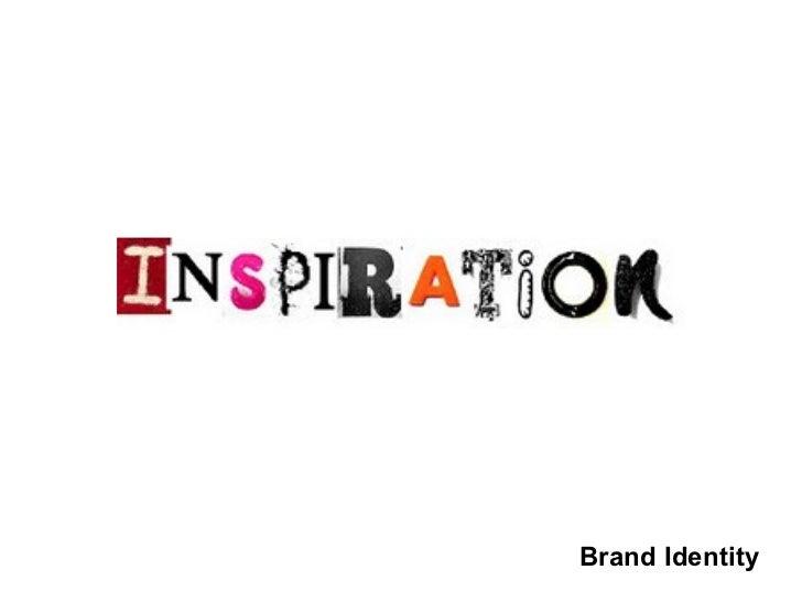 Brand identity inspiration