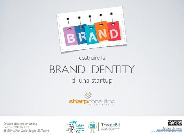 Costruire la Brand Identity di una Startup