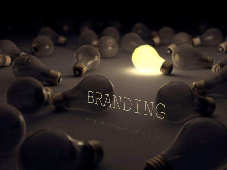 Stand Out From The Crowd<br /> BRANDING<br />