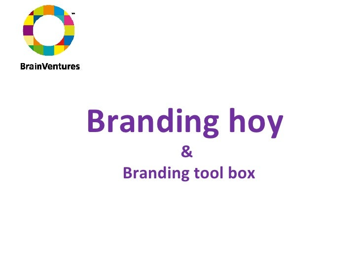 Branding hoy  &  Branding tool box