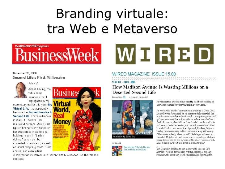 Branding virtuale: tra Web e Metaverso