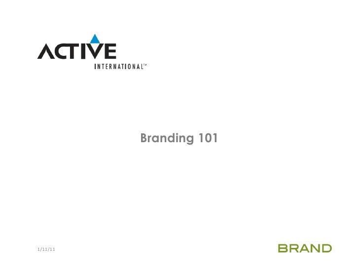 This Week in Web Design: Branding 101