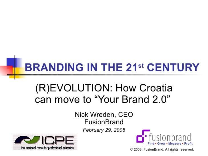 How to brand a destination using Web 2.0