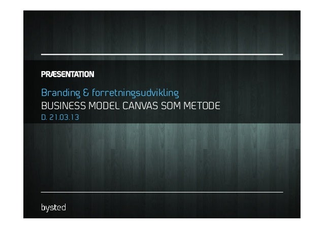 Gå-hjem-møde d. 21.03.2013: Branding og forretningsudvikling - Uri Andersen
