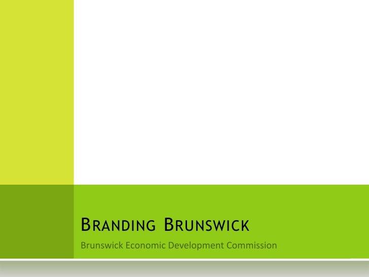 Branding Brunswick MD
