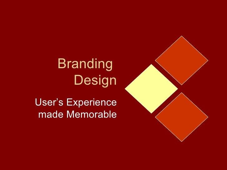 Branding and UX Design