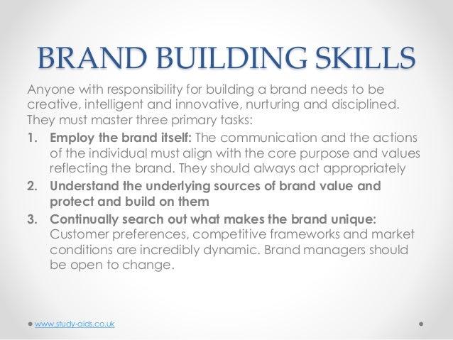 Brand building dissertation