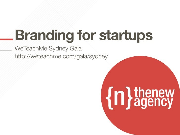 add your titlestartupsBranding for hereadd your textSydney GalaWeTeachMe herehttp://weteachme.com/gala/sydney