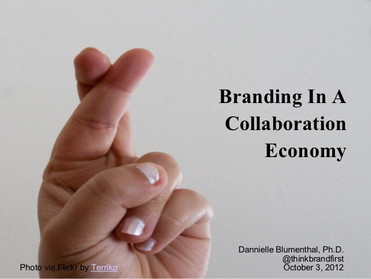 Branding in a collaboration economy