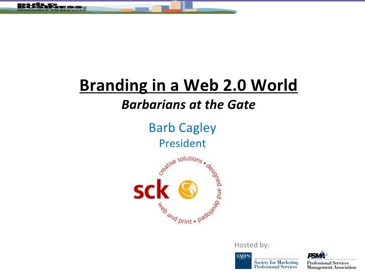 Branding In A Web 2.0 World