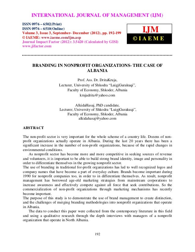 International Journal of Management (IJM), OF MANAGEMENT ISSN 0976 –     INTERNATIONAL JOURNAL ISSN 0976 – 6502(Print), (I...