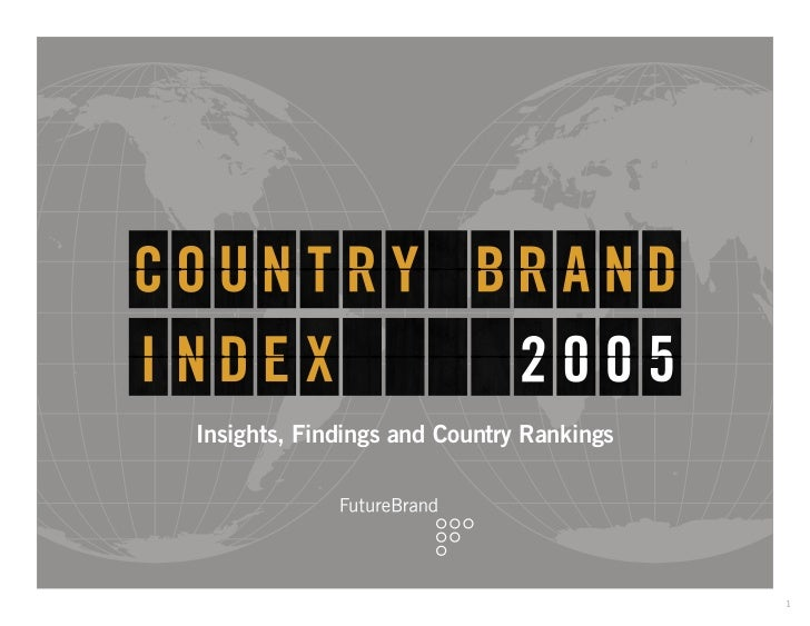 Insights, Findings and Country Rankings                                          1
