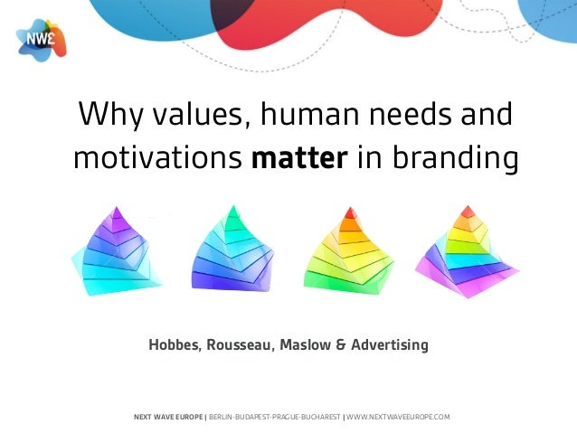 Why values, human needs and motivations matter in branding