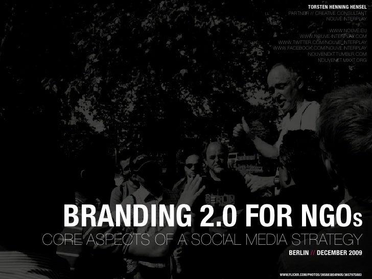 Branding 2.0 for NGOs
