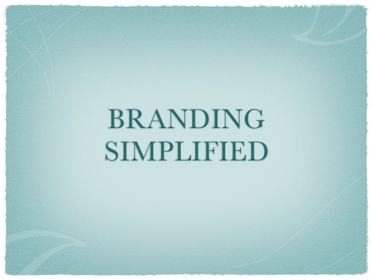 BRANDINGSIMPLIFIED